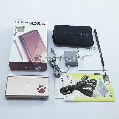 Brand New Paw Metallic Rose Nintendo DS Lite HandHeld Console System + gifts