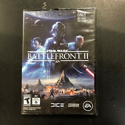 Star Wars [ Battlefront 2 ]  (PC / Download Card) NEW