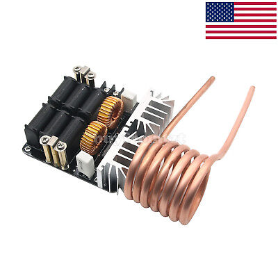 nobrand ZVS DC12-36V 20A 1000W Induction Heating Power Supply Module Board with Copper Tube