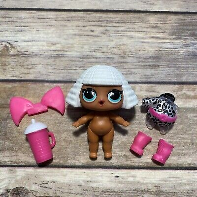 LOL Surprise Doll DIVA BABY Big Sis Sister Dolls Series 1 BABE CHEETAH GIRL BOW