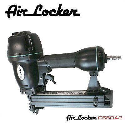 "Air Locker CS80A2 3/8"" - 5/8"" Heavy Duty Aluminum Body Corrugated Fasten/Stapler"