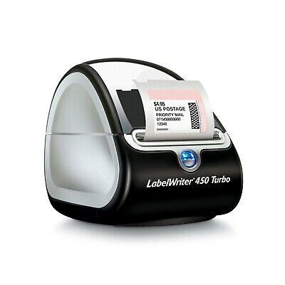 Dymo Labelwriter 450 Turbo Label Thermal Printer - Black 1752265 Qll
