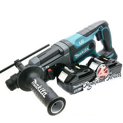 Makita Xrh04z 18v Lxt Cordless 78-inch 5.0 Ah Batteries Rotary Hammer Drill
