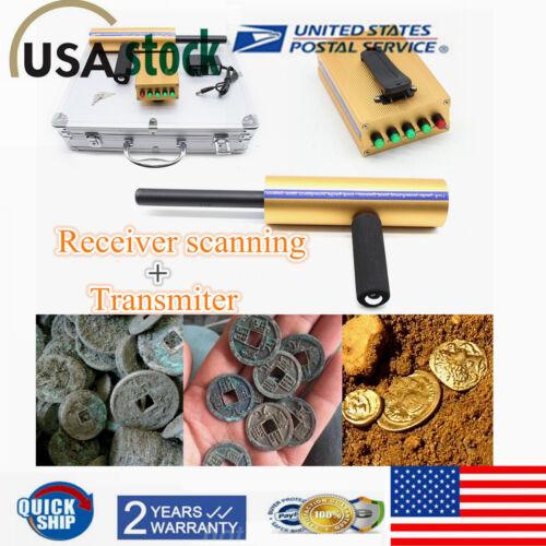 AKS Handhold 3D Metal/Gold Diamond Treasure Detector Long Range Finder Machine