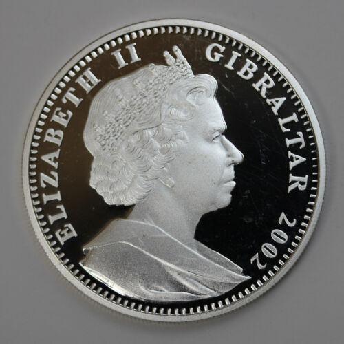 2002 Gibraltar 1 oz Silver Cherub 999 Fine