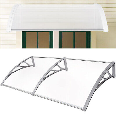 Door Canopy Awning Shelter Window Roof Rain Cover Front Back Outdoor Porch Patio