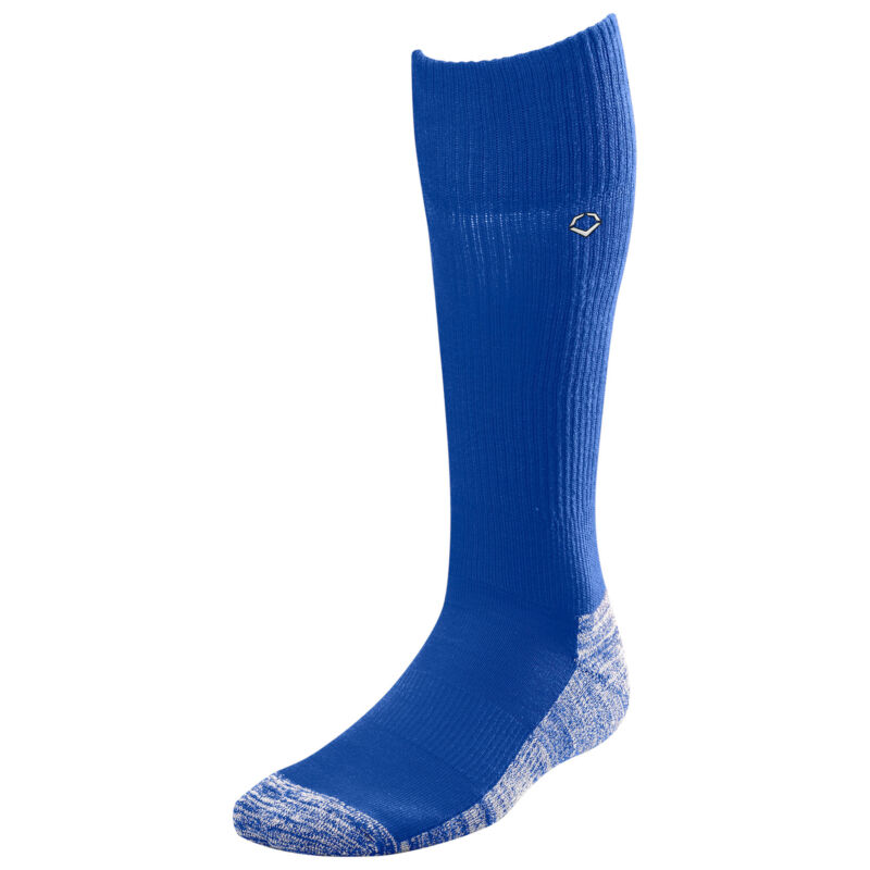 Evoshield Knee-High Moisture Wicking Baseball/Softball Game Socks, Royal, Medium