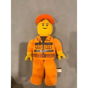 Lego Man Workman Plush Toy Movable Arms 2010 Official Merchandise