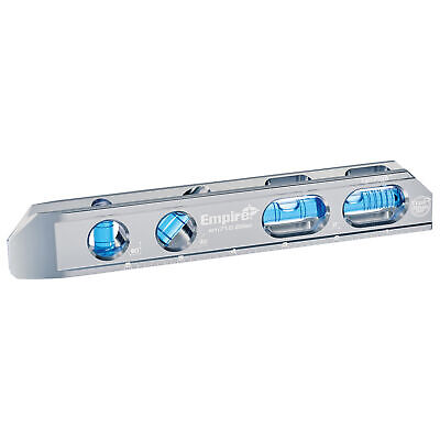 Empire True Blue Magnetic Billet Level - 8in., Model# EM71.8 Blue Magnetic Level