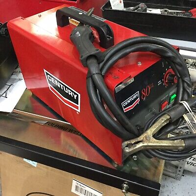 Century Lincoln Electric 70 Amp 80gl Wire Feed Flux Core Welder And Gun 115v