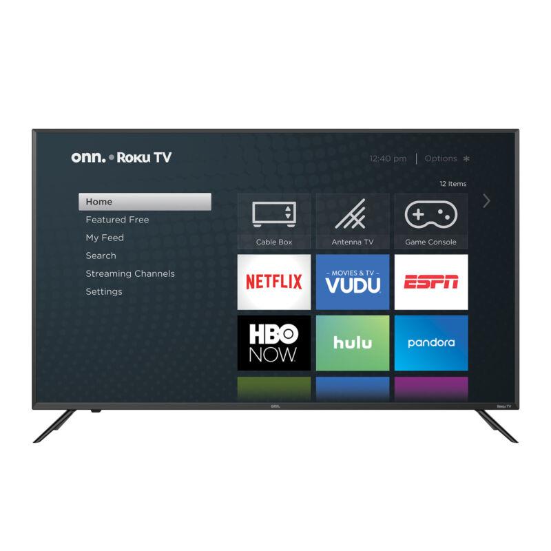 "ONN 50"" Class 4K (2160P) Roku Smart LED TV (100007147)"