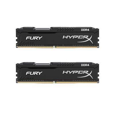 For 16GB  HyperX FURY DDR4 2x8GB 2400MHz CL15 1.2v 19200  Desktop Memory