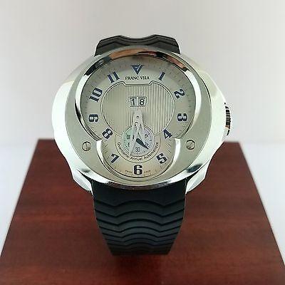 Franc Vila Fva8 Esprit Unique Stainless Steel Men's Watch MSRP $23,100