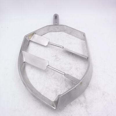Bear Varimixer 60 Qt. Flat Beater Stainless Steel Attachment Replacement Part