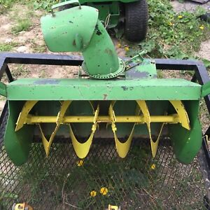 John Deere Snow Attachments | Kijiji in Ontario  - Buy, Sell & Save