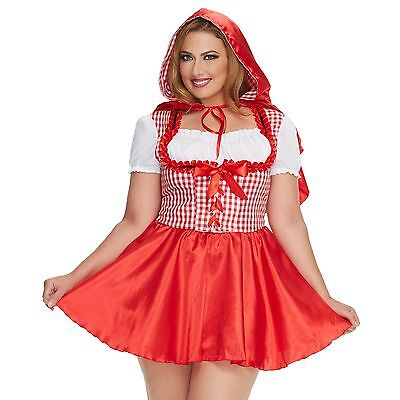 Mystery House Women's Plus-Size Red Riding Hood Style #M1476W (Plus Size Red Riding Hood)