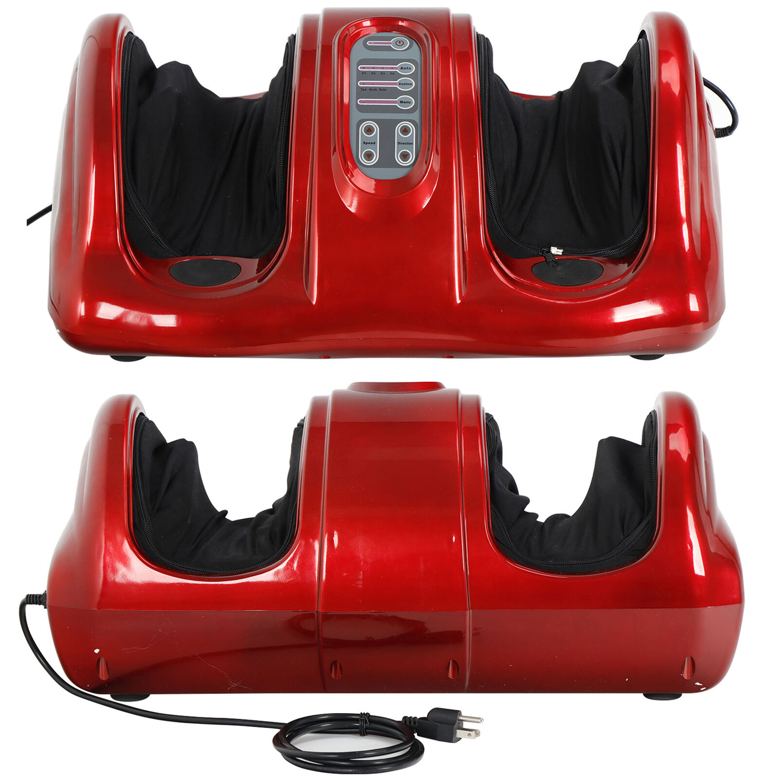 Shiatsu Foot Massager Switchable Kneading & Rolling Leg Calf