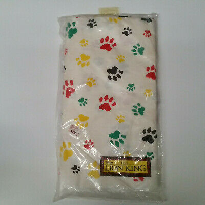 Disney's The Lion King Beach Special Plastic Backing Table Cover - Sealed - Lion King Table Cover