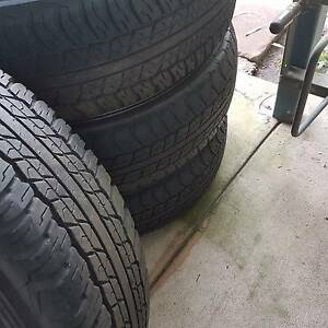 4 Sr Hilux rims and tyres Darwin CBD Darwin City Preview