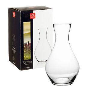 RCR-Toscana-2L-Caraffa-Tavolo-Brocca-Vaso-Design-Italiano-Luxion-Cristallo