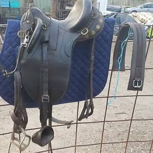 Kids stock saddle package