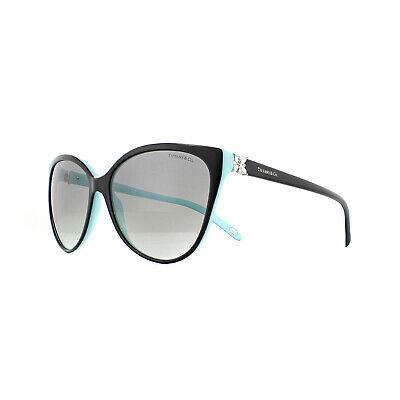 Tiffany Sonnenbrille Tf 4089B 80553C Schwarz Grau Farbverlauf