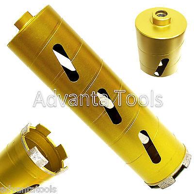 2 Dry Diamond Core Drill Bit For Soft Brick Concrete Block 58-11 Threads
