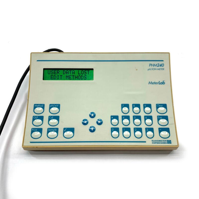 Radiometer MeterLab PHM240 pH/Ion Meter