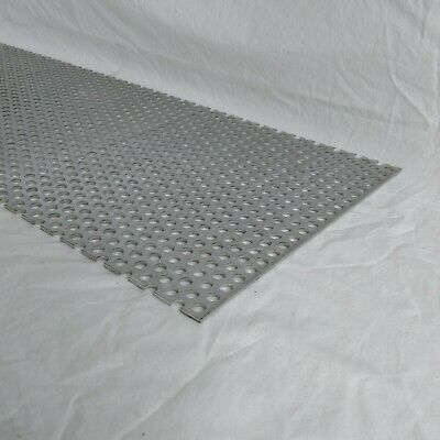 Perforated Metal Aluminum Sheet 18 Thick 12 X 12 38 Hole 1116 Stagger