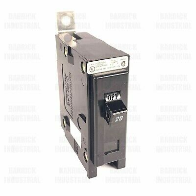 Lot Of 5 Bab1020 Eaton Cutler Hammer Circuit Breaker Type Ba 1p 20a 120v