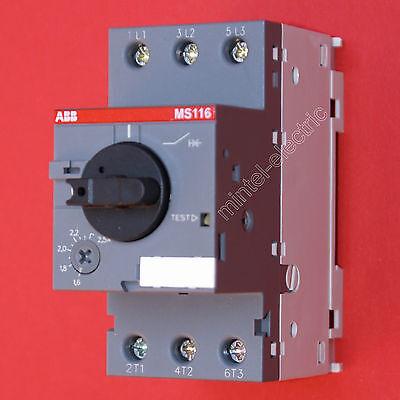 ABB Motorschutzschalter  MS116-2.5 einstellbar 1,6...2,5 A