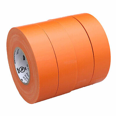 4 Rolls Orange Electrical Insulating Tape Vinyl 34 Inch 20 Yards Ul Listed