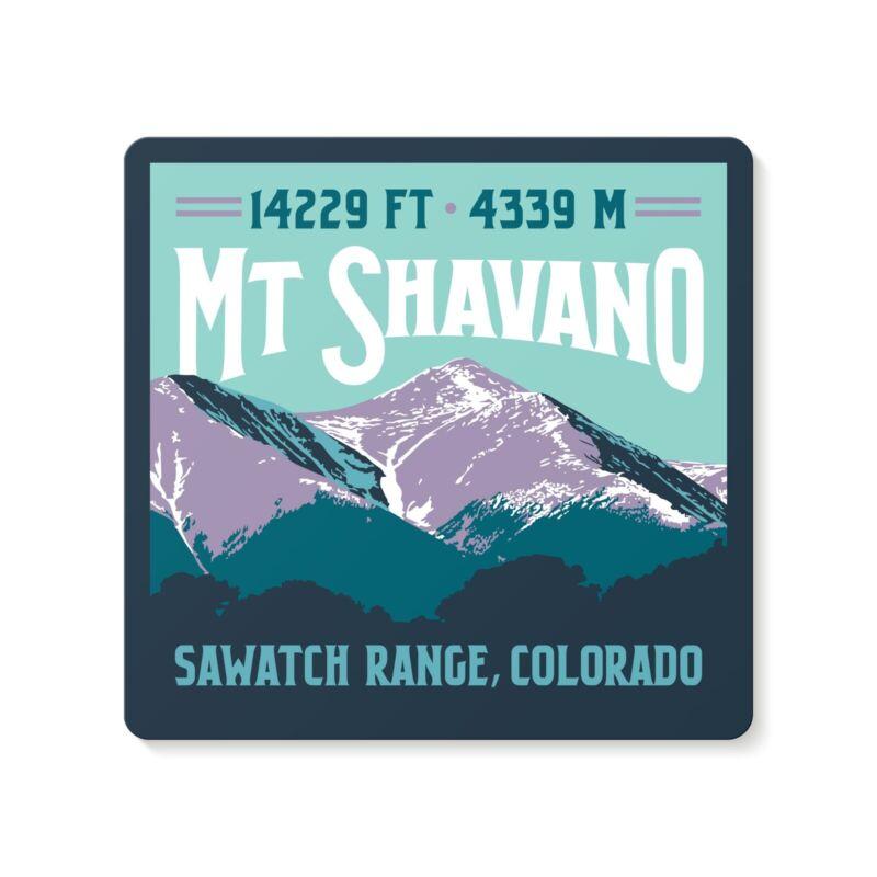Mt Shavano Colorado 14er Decal Sticker