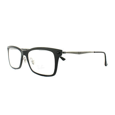 Ray-Ban Glasses Frames RX 7039 2077 Matt Black Mens Womens 51mm