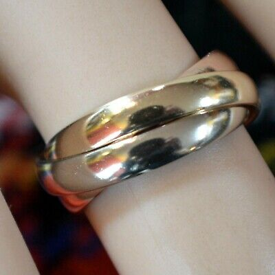 9 ct GOLD second hand 3 gold Russian wedding ring
