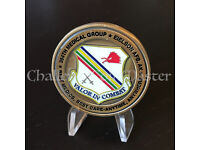 US Air Force Joint Base Lewis-McChord Command Team USAF Challenge coin