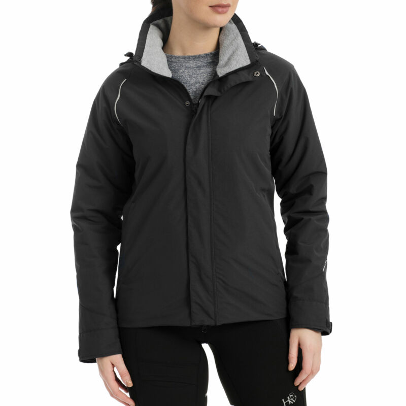 Horseware Eco Tech Club Unisex Jacket Riding - Black All Sizes