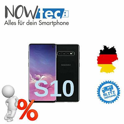 Samsung Galaxy S10 128GB Dual-SIM prism black ohne Simlock - Sehr guter ZustandRechnung inkl MwSt. ✔️ Garantie ✔️ DE Händler ✔️ DHL