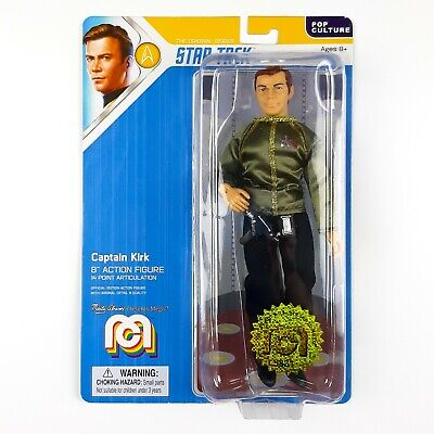 Mego Star Trek TOS Captain KIRK Dress Uniform Limited Edition Action Figure NEW