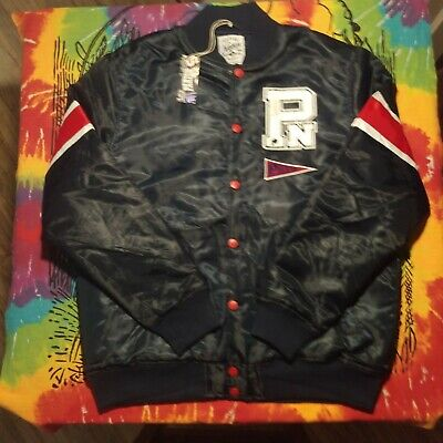Parish Nation Bomber Jacket 2XL Tackle Twill Letters New With Tags P Wing Polo
