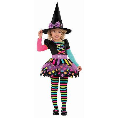 Miss Passend Mädchen Hexe Kostüm Kinder Halloween Kostüm 3-6 - Passende Kostüm Kinder
