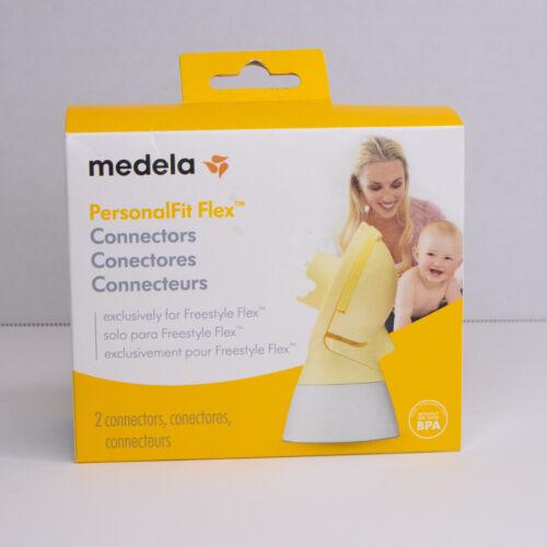 Medela PersonalFit Flex Connectors Freestyle Flex 2 Connectors BPA Free *Sealed*