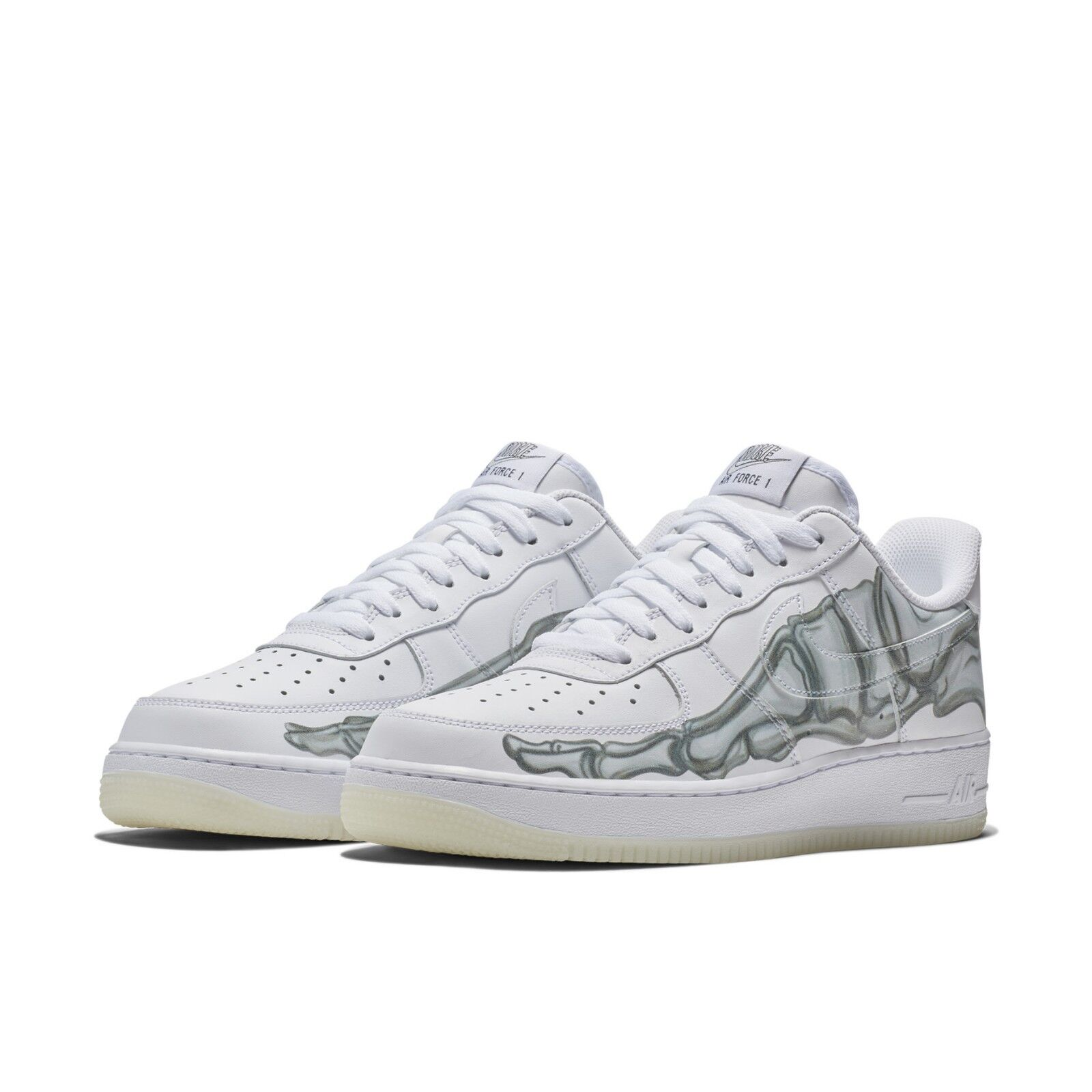 los angeles e29d2 f543c Nike Air Force 1 07 Low QS Skeleton Halloween 2018 Glow In The Dark  BQ7541-100