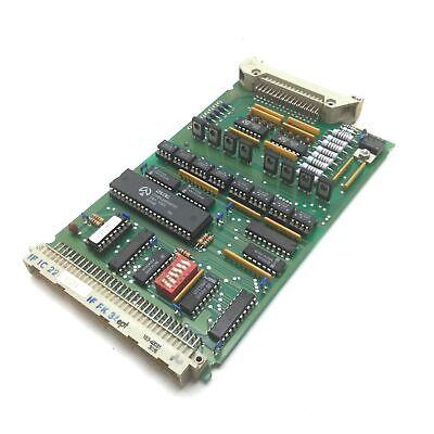 Komax 0582665 B Card For 40t Wire Crimper Stripper Machine Broken Connector