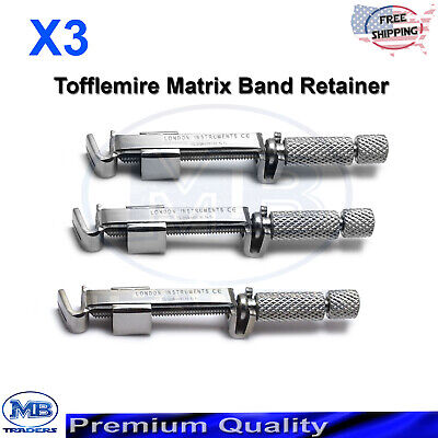 Dental Lab Supplies Tofflemire Surgical Universal Matrix Band Retainers