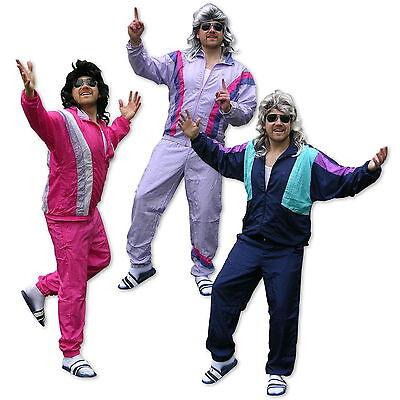 Bad Taste Party Kleidung 80s, 90s Trainingsanzug Jogginganzug Verkleidung Kostüm