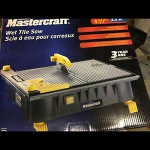 Mastercraft Wet tile cutter