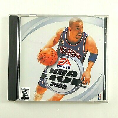 NBA Live 2003 EA Sport PC compatible video game CD-Rom
