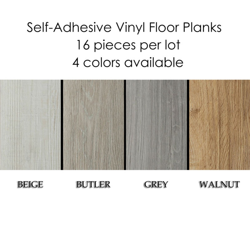Self-Adhesive Vinyl Planks Hardwood Wood Peel 'N Stick Floor