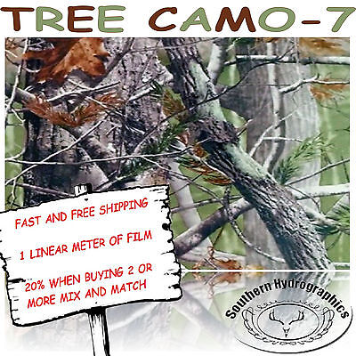 Hydrographic Water Transfer Hydrodipping Film Hydro Dip Tree Camo -7 1m